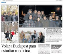 Volar a Budapest para estudiar medicina
