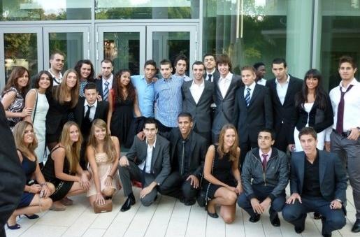Facultad de Medicina - Universidad de Szeged - Estudiantes españoles, 2010