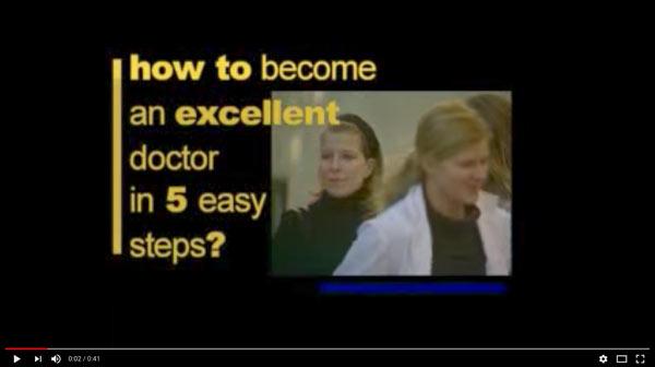 Como llegar a ser un buen médico en 5 pasos